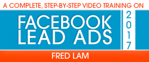 facebook lead ads step by step training – 2017