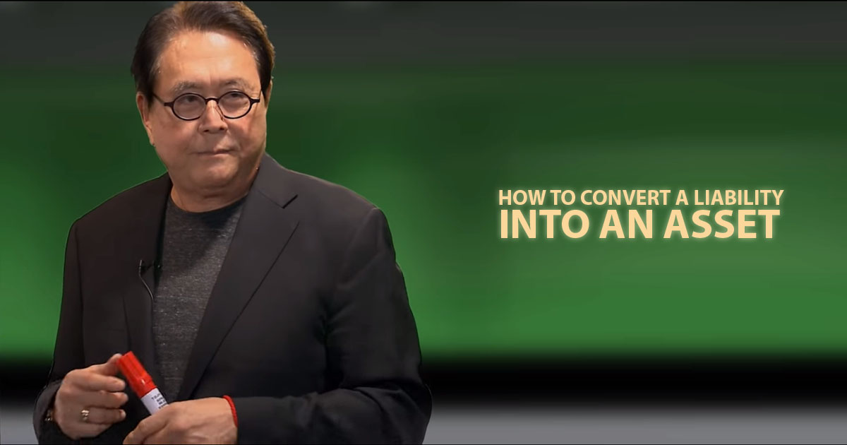 Controlling cash flow ( tips from Robert Kiyosaki)