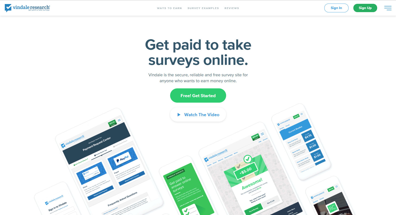 for paid surveys