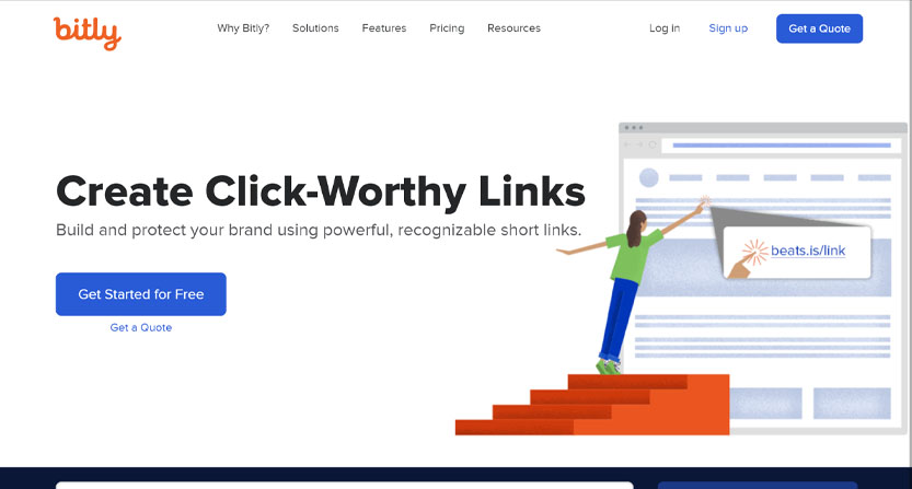 bitly best free link tracker