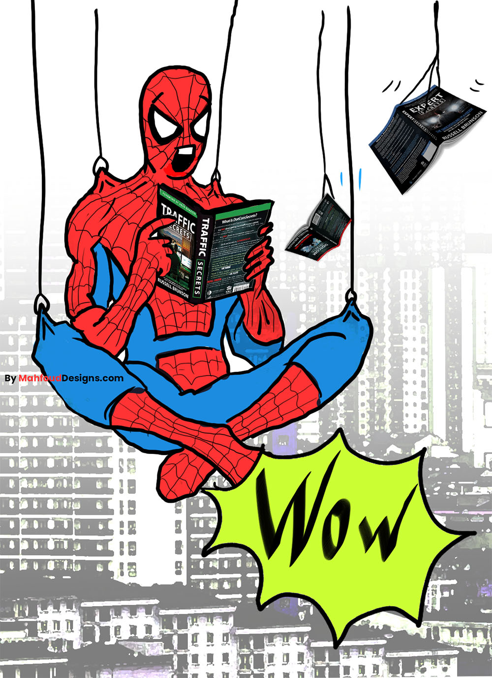 traffic secrets book spiderman