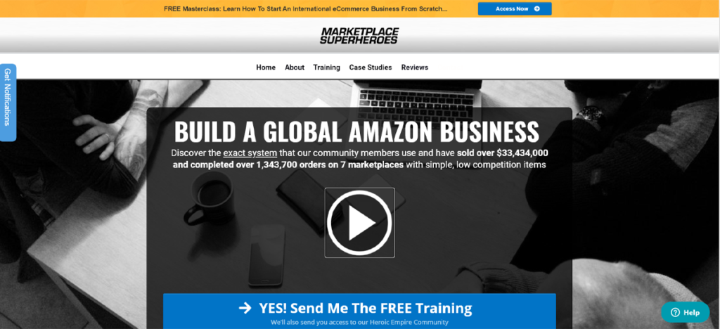 Marketplace Superheroe: amazon fba course